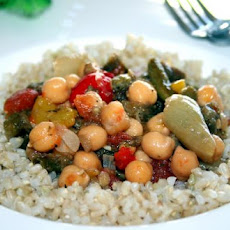 Roasted Vegetables With Chickpeas