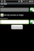 Screenshot of Aus Map