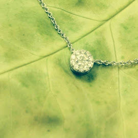 Green Necklace by Pauline Crouse - Instagram & Mobile iPhone ( object, artistic, jewelry )