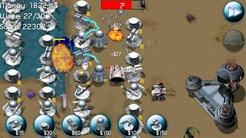 Screenshot of Nexus Defense (Tower game)