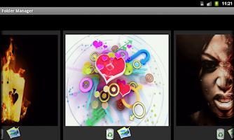Screenshot of General Mobile Wallpaper