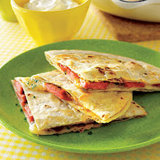 Hot Doggy Quesadillas