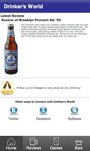 Drinker's World