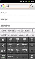 Screenshot of English to Sanskrit Dictionary
