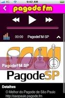 Screenshot of Pagode FM