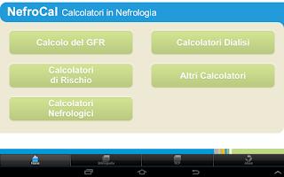 Screenshot of NefroCal