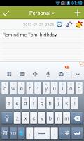 Screenshot of Notebook lite - notes & lists