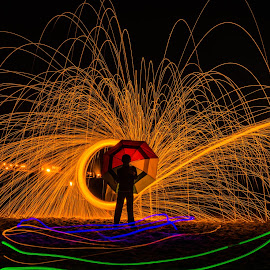 by Jayasimha Nuggehalli - Abstract Light Painting
