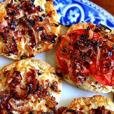 Dad's English Muffin Pizzas