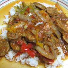 Sausage & Peppers- Slow Cooked