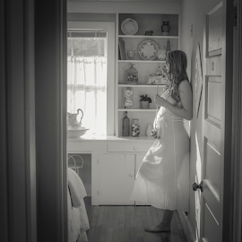 Mother in a Cottage by Dean Tunberg - People Maternity ( maternity )