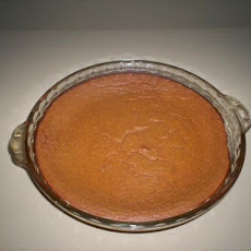 Crustless Pumpkin Pie (Low-Calorie)