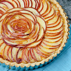 Brie and Pear Tart