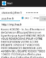 Screenshot of Mail