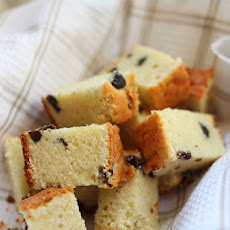 Brandy Butter Cake with Prunes