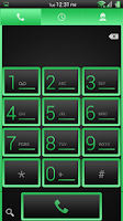 Screenshot of Simple Green CM11/AOKP Theme