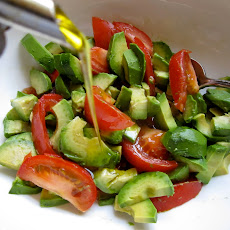 Avocado & Tomato Salad