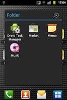 Screenshot of Droid App Folder