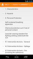 Screenshot of Dangerous Goods Manual