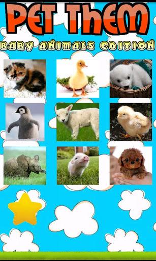 玩免費休閒APP 下載Pet Them: Baby Animals (NoAds) app不用錢 硬是要APP
