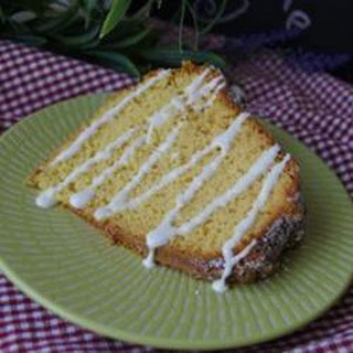 Lemon Pound Cake II