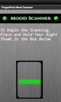 Screenshot of Mood Scanner - Test your mood