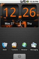 Screenshot of FlipClock Prodigal Sun 4x2