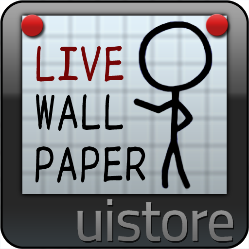 StickMan LiveWallpaper 個人化 App LOGO-APP試玩