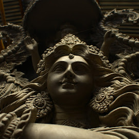 DIVINE by Anubhav Choudhury - Buildings & Architecture Statues & Monuments ( anubhav choudhry photography, anvclicks, durga puja )