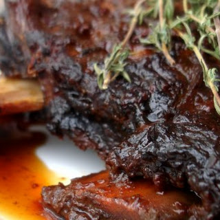 Crockpot Coffee Ancho Chile Short Ribs