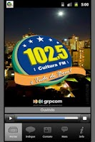 Screenshot of Cultura FM / Maringa / Brazil
