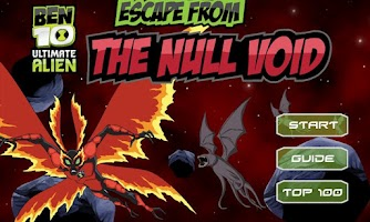 Screenshot of Escape from the Null Void