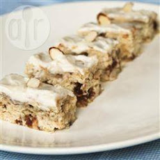 Banana, Almond and Date Bars