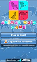 Screenshot of Animal Quiz Game for Kids