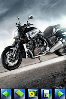 Screenshot of HD Motorcycle wallpaper