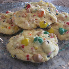 Rainbow Cake Mix Cookies - Aka Party-Cake Cookies