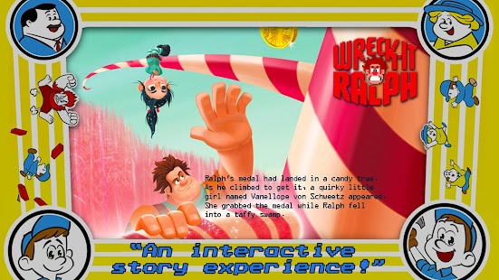 Wreck-It Ralph Storybook - screenshot