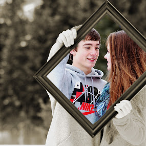 Picture Perfect by Cassidy Meade - People Couples ( my idea, male, like, couples, relationship, love, frame, girl, female, original, couple, nikon, boy )