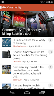 GeekWire - screenshot