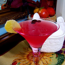 Cranberry-Ginger Martini