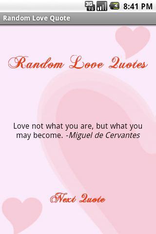 Random Love Quote