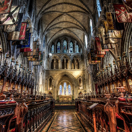 Saint Patrick's Cathedral by Mike Shaw - Buildings & Architecture Public & Historical ( ireland, hdr, dublin, architectural, cathedral, architecture )