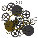 Steampunk Clock icon
