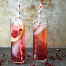Pomegranate Lemonade Punch