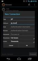 Screenshot of Remoter RDP Client