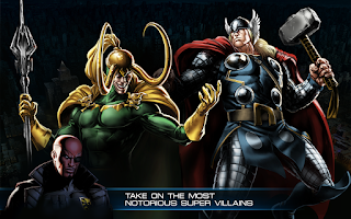 Screenshot of Avengers Alliance