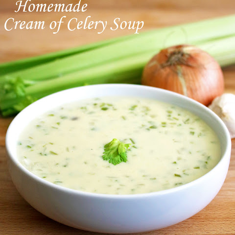 Homemade Cream of Celery Soup