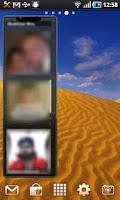 Screenshot of Photo Contacts Widget