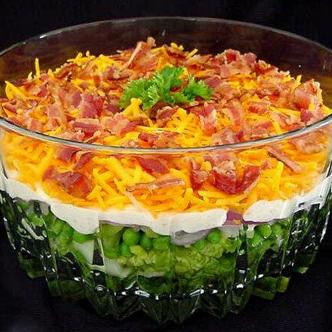 Yummy 7 Layer Salad