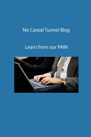 No Carpal Tunnel Syndrome